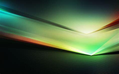 wallpaper spectrum green hd abstract