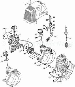 30 Stihl Pole Saw Parts Diagram