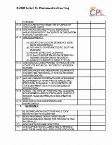 facilities inspection manual food canadian food autos post With gmp audit report template