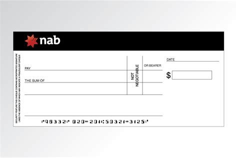 Novelty Cheque / Check For Charity Or Fundraising Events Page
