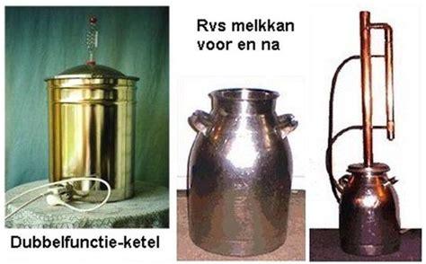 Koperen Len Maken by Het Distileerapparaat