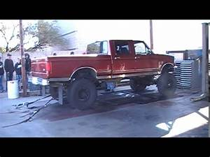 Lifted  U0026 39 97 Ford F-350 7 3 Liter Powerstroke On The Dyno