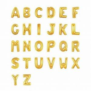 ruby rabbit partyware gold giant x o balloons With balloons with letters of the alphabet