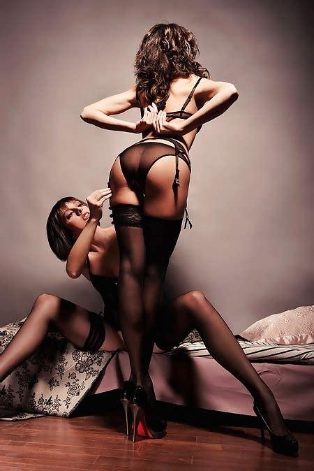 Stockings Suspenders Garter Belt High Heels Pics