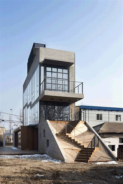 Building Shaped Youngchae Park Gaon Studio Architecture