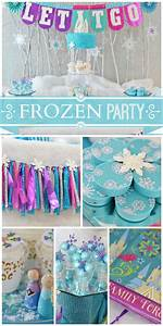 159 best Anna and Elsa frozen party idea images on ...