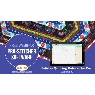 Home Designer Pro Webinar by Pro Stitcher Webinar 9 Quilting Before The