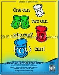 tons  food drive flier poster ideas