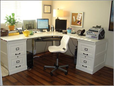 l shaped desk with filing cabinet file cabinet design white desk with file cabinet white
