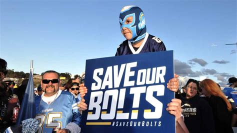 Schedule Of What Could Be Chargers' Last Season In San