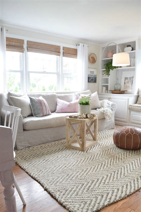 Livingroom Rugs by Jute Rug Review In Our Living Room Nesting With Grace