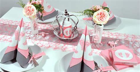 taufe dekoration tisch tischdekoration in rosa mit vintage kr 246 nchen kaufen tischdeko shop