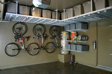 overhead garage storage systems garage overhead storage gallery cary nc shelving
