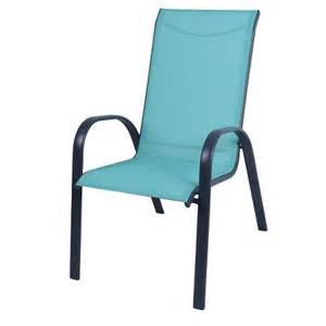 Stack Sling Patio Chair Turquoise Room Essentials stack sling patio chair turquoise room essentials target
