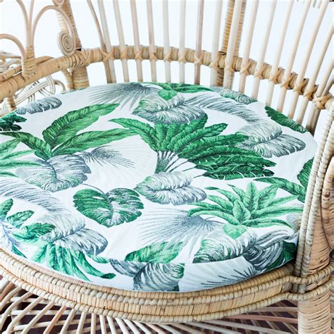 cushion cover peacock chair daintree au fait living