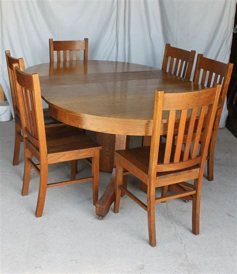 bargain johns antiques antique mission style  oak