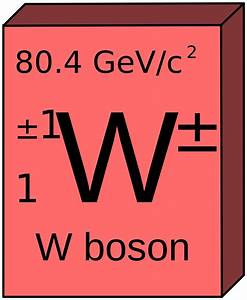 Y Et W : boson w wikip dia ~ Medecine-chirurgie-esthetiques.com Avis de Voitures