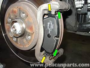 Mini Cooper Break : mini cooper brake pad replacement r50 r52 r53 2001 2006 pelican parts diy maintenance article ~ Maxctalentgroup.com Avis de Voitures