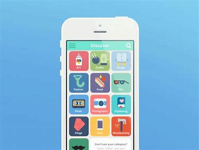 Development Ui App Animation Digital Animated Mobile