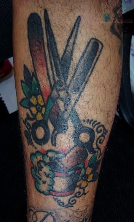 scissor tattoo images designs