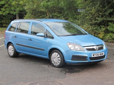 Used Vauxhall Zafira Car 2006 Blue Petrol For Sale In