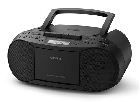 Cassette Player Boombox by Sony Cfd S70 Classic Boombox Built In Cd Cassette Player