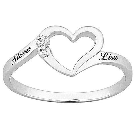 best 25 engraved promise rings ideas on
