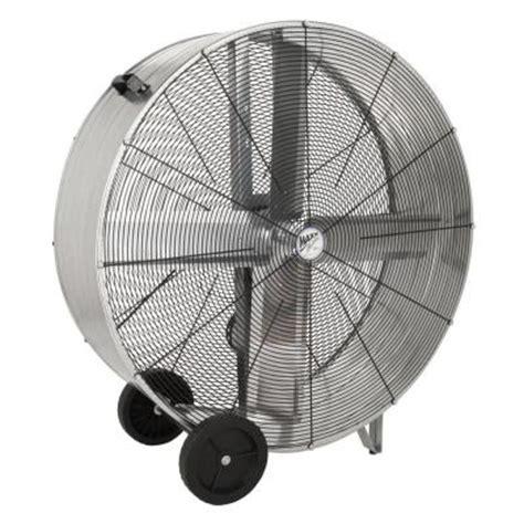 home depot drum fan ventamatic 42 in 2 speed belt drive barrel or drum fan