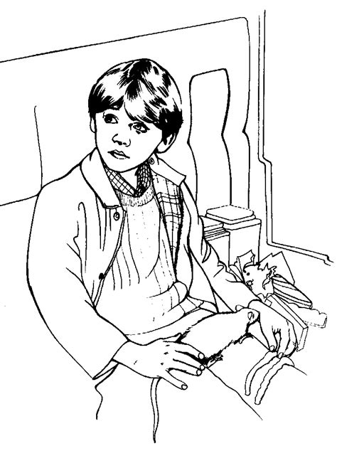 Coloring Page Harry potter coloring pages 28
