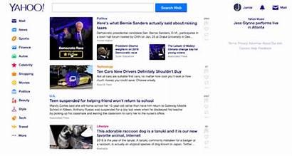 Yahoo Homepage App Update Breaking Updates Stories