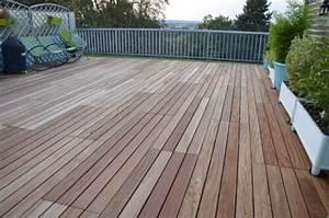 Dalle Bois Terrasse 100x100 : photos de toitures terrasse ~ Melissatoandfro.com Idées de Décoration