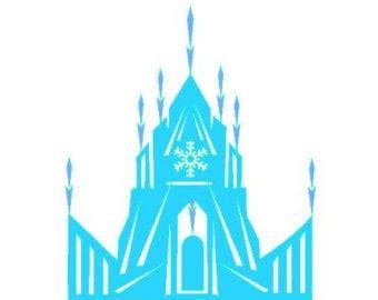 elsa clipart frozen castle elsa frozen castle transparent
