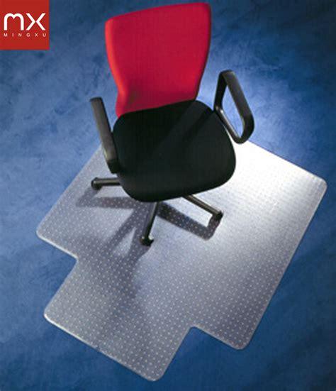 tapis plastique bureau chaise de bureau mat tapis de sol protecteur pvc
