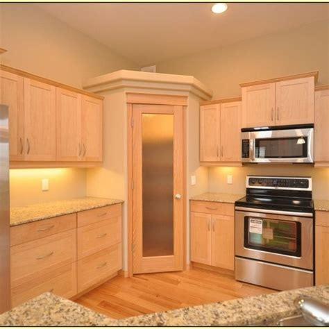 corner kitchen cabinet floor  ceiling kitchen design