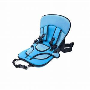 Portable Safety Booster Car Seat Cover Cushion Harness For