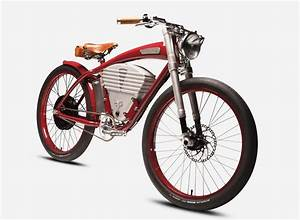 Vintage Electric Tracker Bicycle Fuses Modern Luxury With