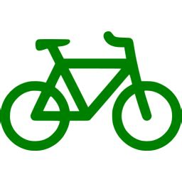 green bicycle icon  green bicycle icons