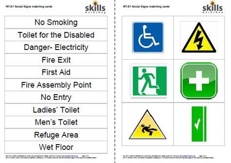 social signs cards skills workshop