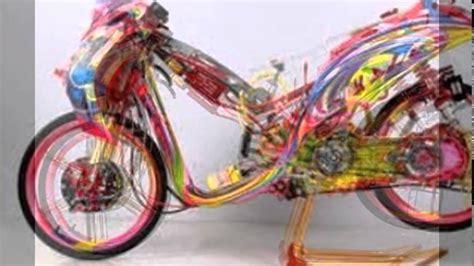 modifikasi motor matic terbaru 2015 yamaha skuter mio fino modif drag biker