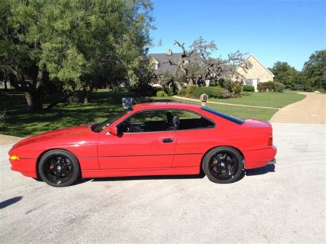 auto body repair training 1993 bmw 8 series electronic valve timing buy used 1991 bmw 850i 8 series red in pflugerville texas united states