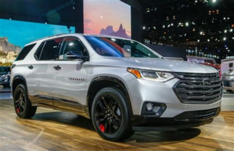 chevrolet traverse price specs review release date
