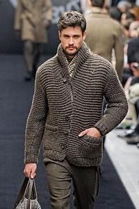 Men 39 S Hand Knit Cardigan 24a Knitwearmasters