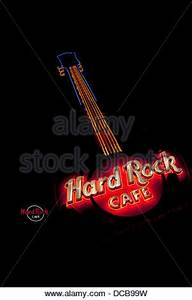 The Hard Rock Cafe in Nashville TN Stock Royalty