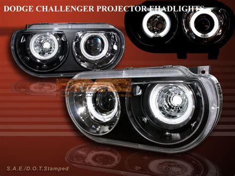 2008 2012 dodge challenger srt8 se r t black projector