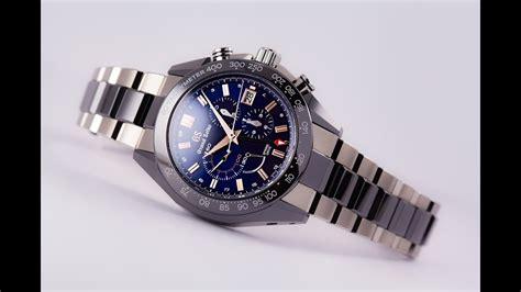 grand seiko spring drive ceramic chronograph gmt limited
