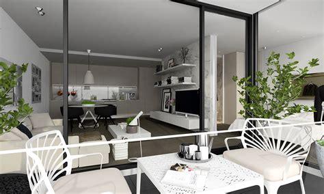 Decorating Ideas Design by Inspiration Un Studio Blanc Moderne Avec Balcon Guten