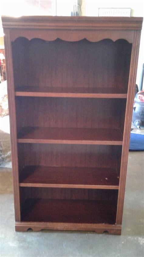 broyhill cherry bookcase delmarva furniture consignment