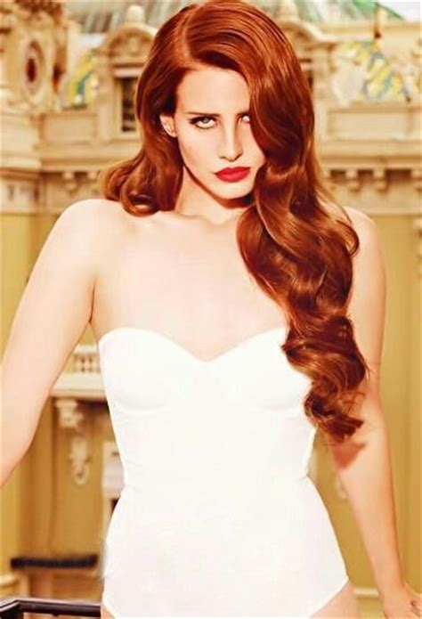 Lana Del Rey With Red Hair Hair Pinterest