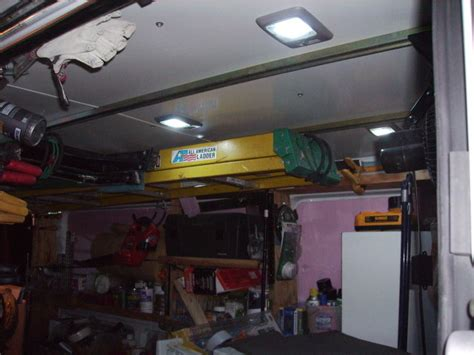 shelving  chevy express lwb vehicles contractor talk