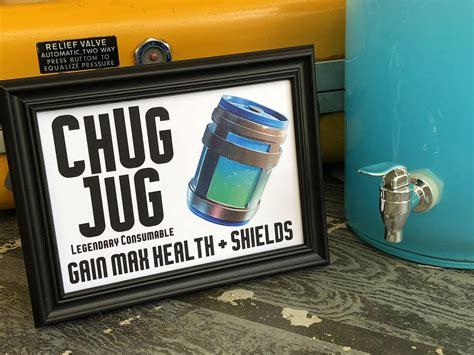 chug jug legendary consumable beverage sign